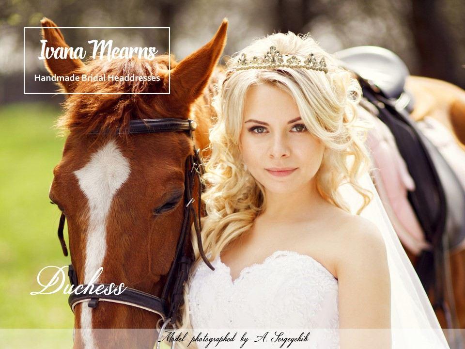 Designer Wedding Tiara by Ivana Mearns