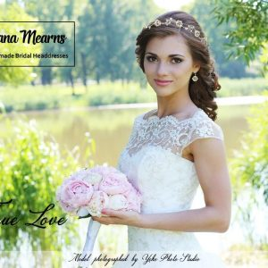 Designer Bridal Hair Vine by Ivana Mearns