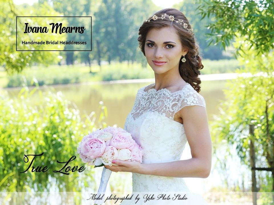 Designer Bridal Hair Vine by Ivana Mearns